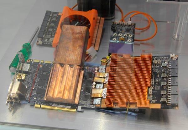Компания также продемонстрировала свои первые испарители жидкого азота для GPU