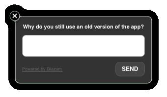 Glazum — простой и эффективный способ задавать in app вопросы в iOS приложениях