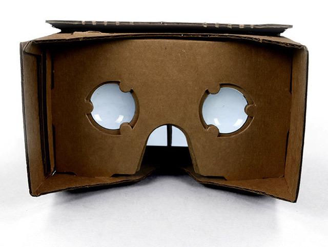 Google Cardboard. Виртуальная реальность из картона и Android смартфона