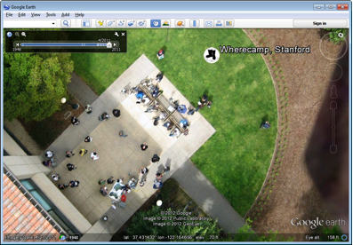 Google Earth добавляет снимки с воздушных шаров