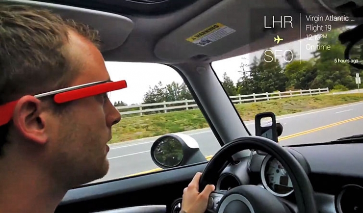 Google Glass в быту: видео от команды разработчиков Google
