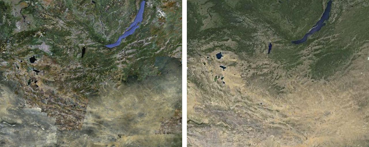 Google очистил планету от облаков