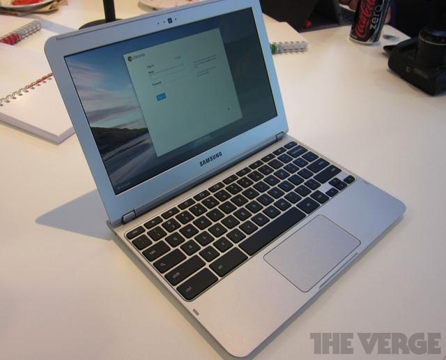 Google представил Samsung Chromebook за 249 долларов