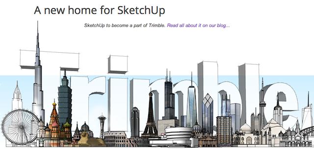 Google продал 3D редактор SketchUp компании Trimble