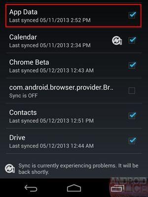 Google работает над инструментом синхронизации данных на разных Android устройствах (с одним аккаунтом)