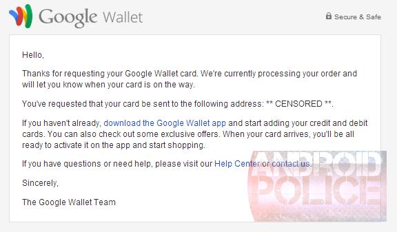 Google расширяет возможности Google Wallet и выпускает собственную кредитную карту