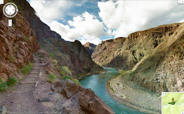 Google выложил панорамы Гранд Каньона