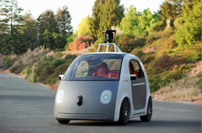 Google выпустил собственную модель робота автомобиля