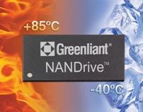 Твердотельные накопители Greenliant I-temp NANDrive выпускаются в вариантах с интерфейсами SATA и PATA