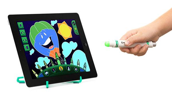 Griffin Crayola Light Marker превращает iPad в игрушку для детей