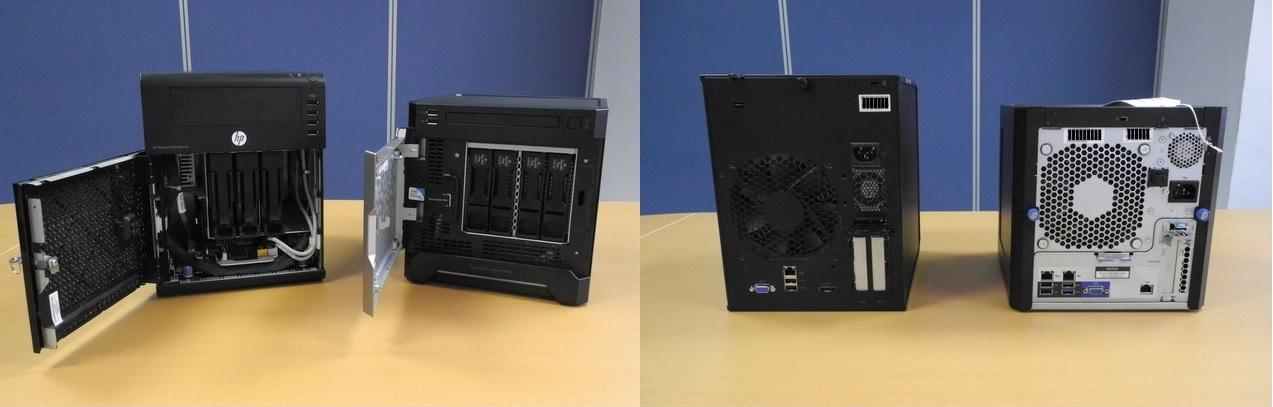 HP Proliant MicroServer Gen8 — работа над ошибками