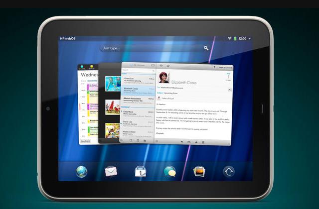 HP продает клиентскую часть WebOS компании LG
