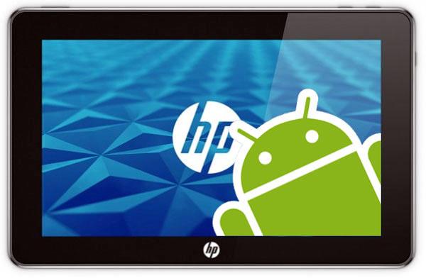 HP снова выпустит планшет, но на Android