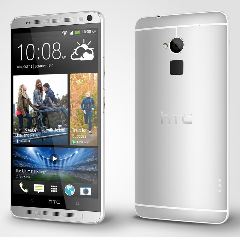 HTC One max представлен официально
