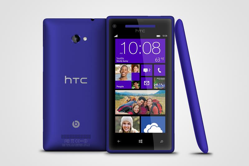 HTC Windows Phone 8X и 8S представлены официально