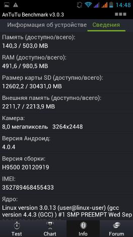 Hero H9500+ (OEM Zopo zp900) — большой смартфон по небольшой цене