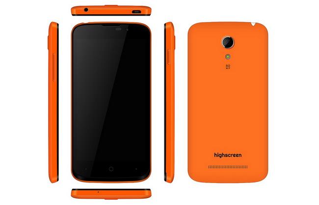 Highscreen Omega Prime Mini: смартфон «неделька» с пятью цветными панелями (анонс! не обзор)
