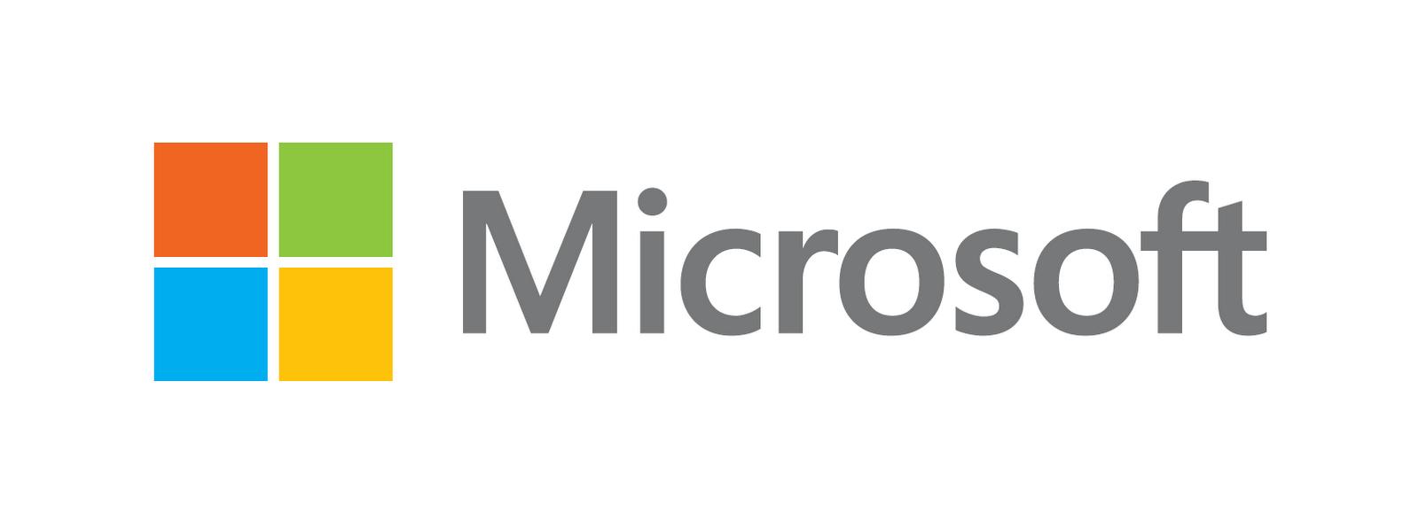 Новый логотип Майкрософта