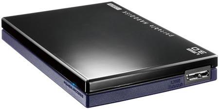 I-O DATA оснащает внешний накопитель HDPC-UTNS интерфейсом USB 3.0