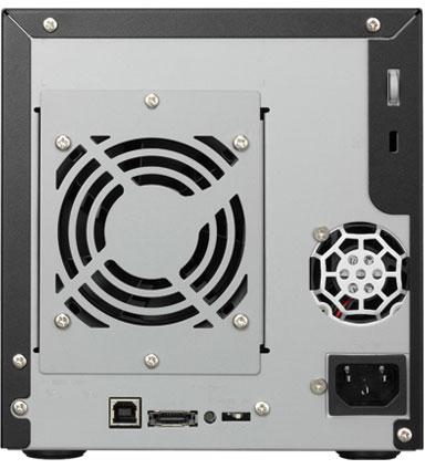 Хранилища I-O Data RHD4-UXRW можно использовать в конфигурациях RAID 5, 0, 1+0