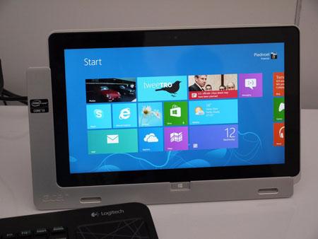 IDF 2012, день второй: Advanced Technologies Zone, 11-дюймовый планшет Acer на процессоре Intel Core i3