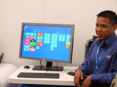 IDF 2012, день второй: Advanced Technologies Zone, как использовать Windows 8 на обычных ПК