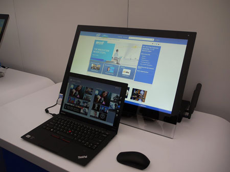 IDF 2012, день второй: Advances Technologies Zone, как использовать Windows 8 на обычных ПК