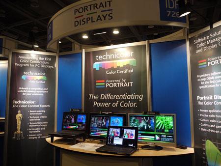 IDF 2012, выставка: Huawei, DTS и Portrait Displays