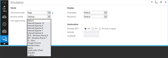 IE11 поддерживает WebGL, SPDY/3 и новые средства для разработчиков