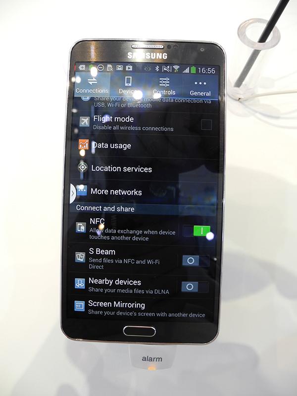 IFA 2013 своими глазами: мобильные устройства Samsung, Toshiba, Panasonic, TCL/Alcatel и Archos