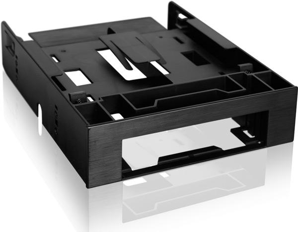 Icy Dock Flex-Fit Trio MB343SP позволяет по максимуму использовать свободный отсек типоразмера 5,25 дюйма