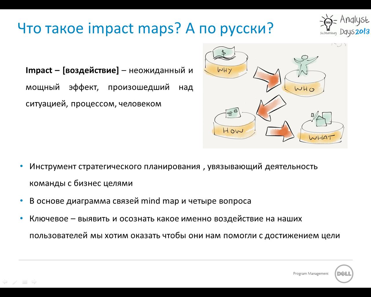 Impact Mapping — как dev команде перестать делать то, что требуют, и начать делать то, что нужно?