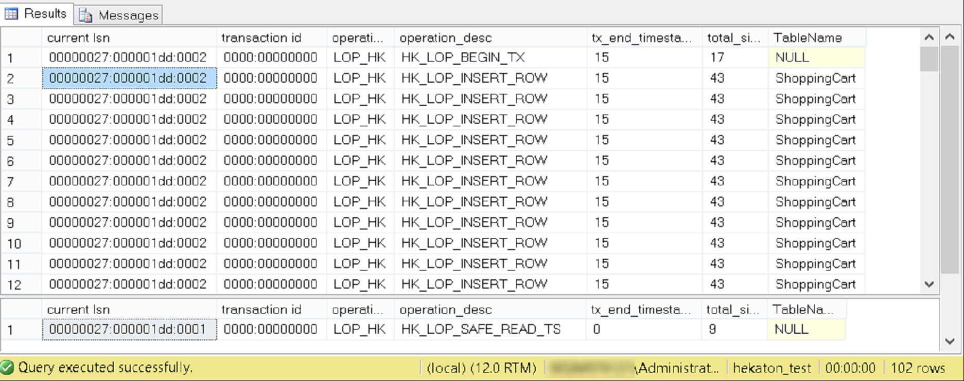 In Memory OLTP в SQL Server 2014. Часть II