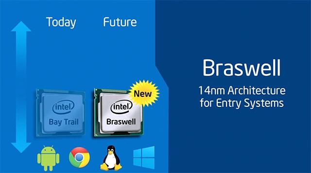 Intel Braswell — новое поколение процессоров для мобильных и мини компьютеров