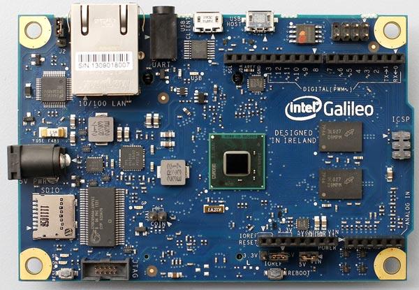 Плата Intel Galileo