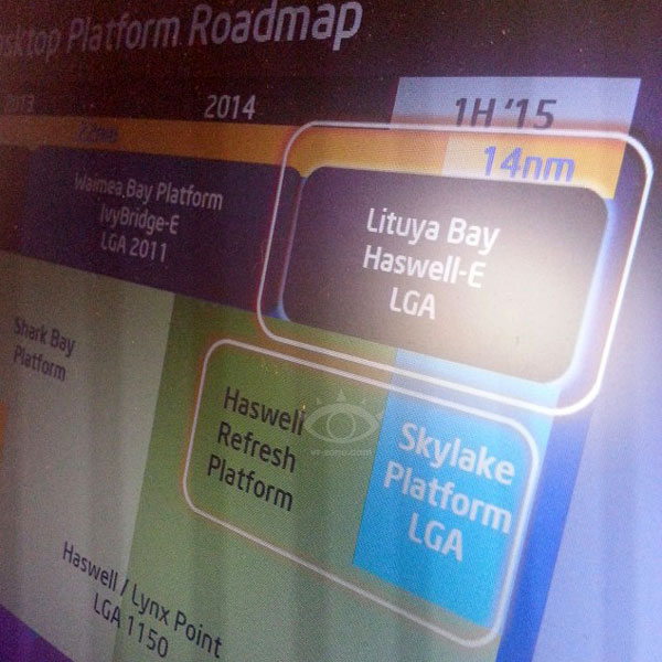 Процессоры Intel Haswell-E Lituya Bay будут выпускаться в корпусах LGA 2011