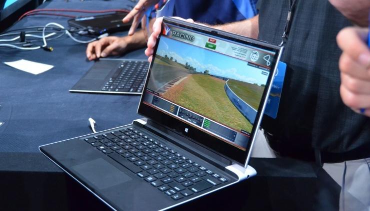 Intel представила прототип ноутбука с беспроводной зарядкой, WiGig и пассивным охлаждением