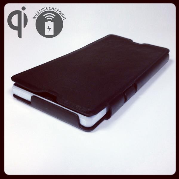 Чехол Ipan Ipan для беспроводной зарядки смартфона Sony Xperia Z соответствует стандарту Qi