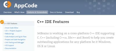 JetBrains готовит к выпуску С++ IDE