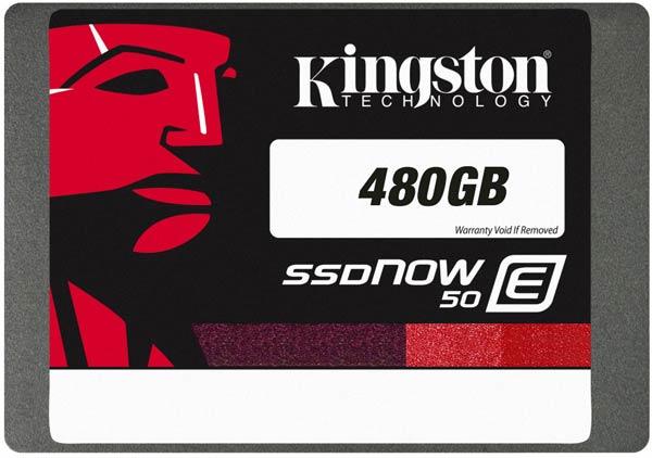 Твердотельные накопители Kingston SSDNow E50 выполнены в типоразмере 2,5 дюйма