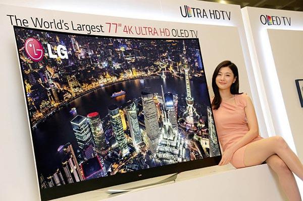 Во втором полугодии на фабрике LG Display M2 начнется выпуск панелей OLED размером до 110 дюймов по диагонали