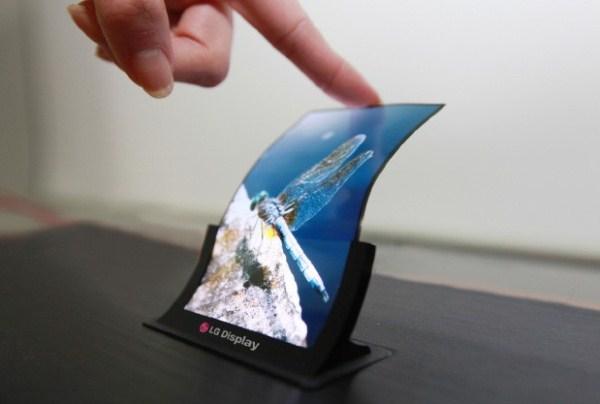 LG гибкий экран 6 дюймов