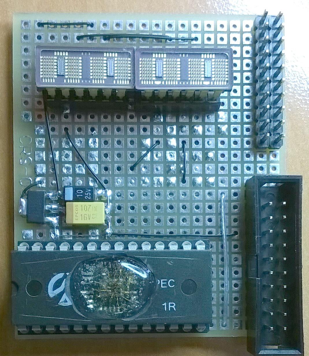 LPC1102 и тёплый ламповый индикатор