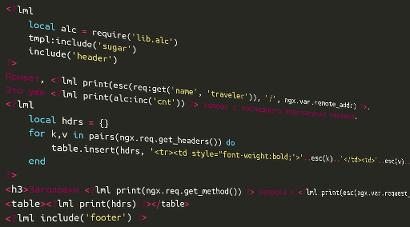 LUA в nginx: лапшакод в стиле inline php