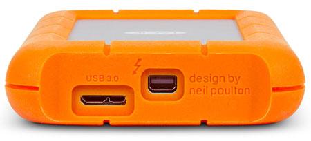 Накопители LaCie Rugged USB 3.0 Thunderbolt в усиленном исполнении