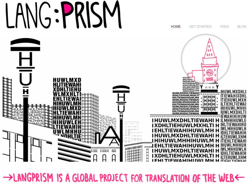 LangPrism – сервис краудсорсинг перевода веб содержимого