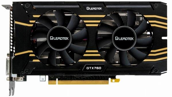 Цена 3D-карты Leadtek GeForce GTX 760 Hurricane с 4 ГБ памяти пока неизвестна
