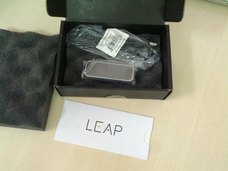 Leap Motion. Распаковка и небольшой обзор