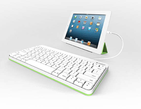 Клавиатуры Logitech с проводным подключением для iPad и iPad mini рассчитаны на учащихся