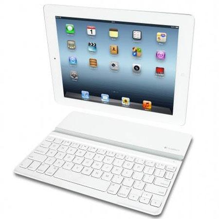 Logitech начинает продажи белой клавиатуры-крышки Ultrathin Keyboard Cover для iPad
